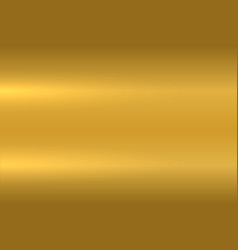 Gold metallic texture polished metal surface vector