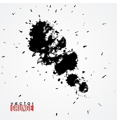 Large ink blot vector