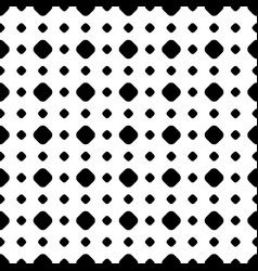 Polka dot pattern in regular geometric grid vector
