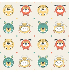 pets pattern vector image vector image