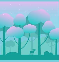 game fantasy wood background vector image