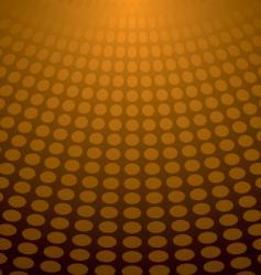 circle light orange vector image