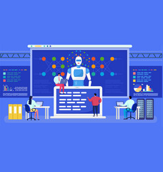 Artificial intelligence neural network vector