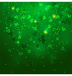 background clover vector image