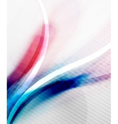 Blue and purple color wave background vector image