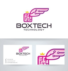 Box Wings Technology vector