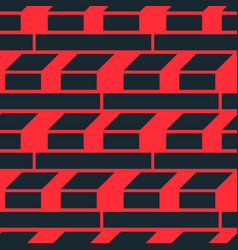 construction and development seamless pattern vector image