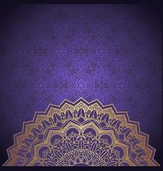 Decorative mandala background vector