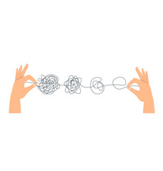 Psychotherapy hand drawn concept vector