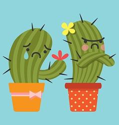 Sulk Cactus vector