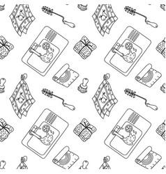 Zero waste pattern vector