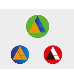 A letter Logo icon symbol vector image