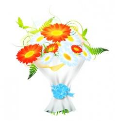 flower bouquet vector image vector image