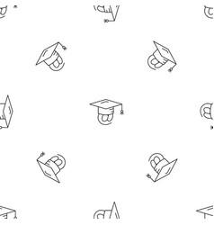 Adress graduated pattern seamless vector
