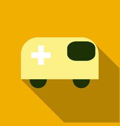 Ambulance emergency vehicle icon ambulance car vector