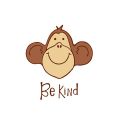 be kind vector image