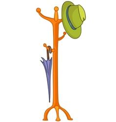 Cartoon home hanger vector