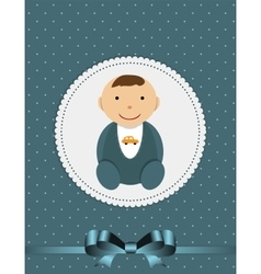 For newborn boy vector