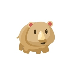 Grey Toy Tapir vector