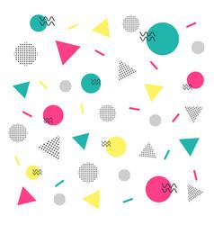 Minimal hipster pattern vector