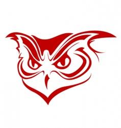 owl symbol vector image