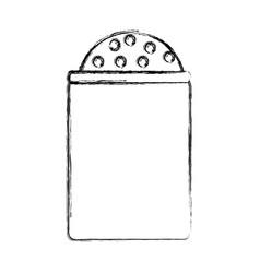 Salt bottle icon vector