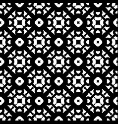 seamless pattern mosiac ornamental texture vector image
