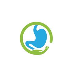 Stomach care icon designs concept vector