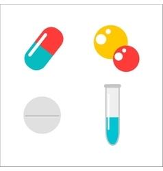 Tablet pills vector