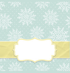 This is a christmas and new year frame vector
