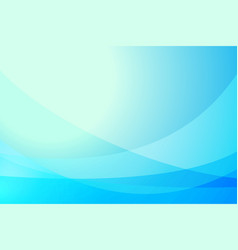 abstract blue curve background vector image vector image