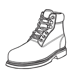 hand-drawn in sketch style vector image vector image