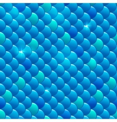 Seamless river fish scales vector image vector image