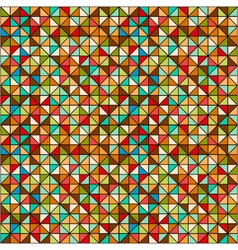 colored geometric background vector image