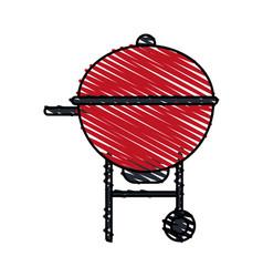 Roaster food hot vector