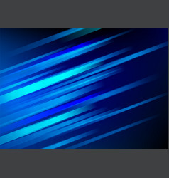 Abstract blue background with light diagonal lines vector