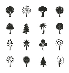 Abstract ecology growth icons set vector image