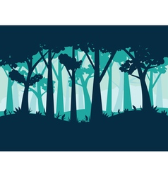 Abstract Forest Landscape3 vector