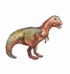Brontosaurus art dinosaur vector