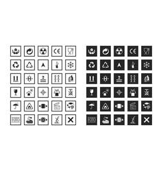 Commodity and manipulation symbols vector