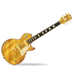 Golden top blues vector