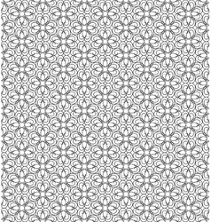 Lace network vector image
