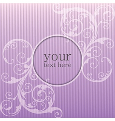 lilac abstract background vector image