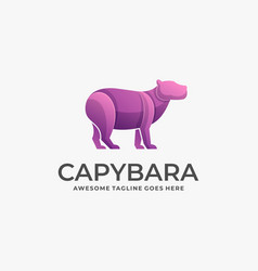 Logo cayenne gradient colorful vector