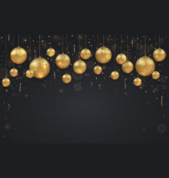 Modern christmas or 2018 happy new year vector