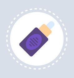 nasal spray bottle icon healthcare medical service vector image