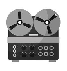 Old retro movie proyector vector