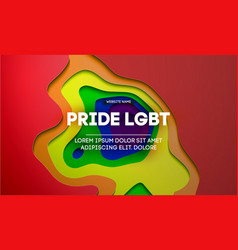 Pride concept background gay design lgbt vector
