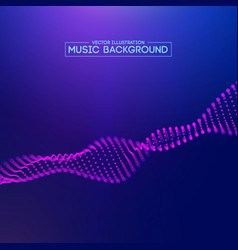 Purple music background abstract background blue vector