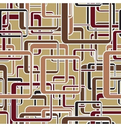 Seamless rectangle pattern vector image